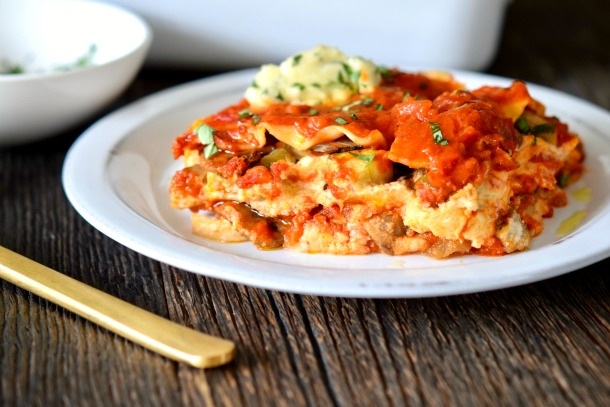 Hearty Vegan Lasagne | Pamela Salzman