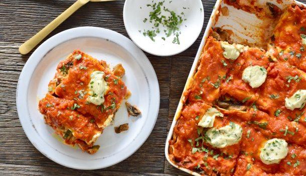 Hearty Vegetable Vegan Lasagna Recipe