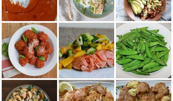 Dinner Planner: Week of June 12, 2017