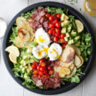 Breakfast Salad with Potatoes, Bacon and Eggs Recipe