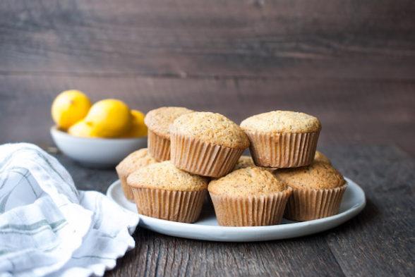 Grain-Free Lemon Poppyseed Muffins | Pamela Salzman