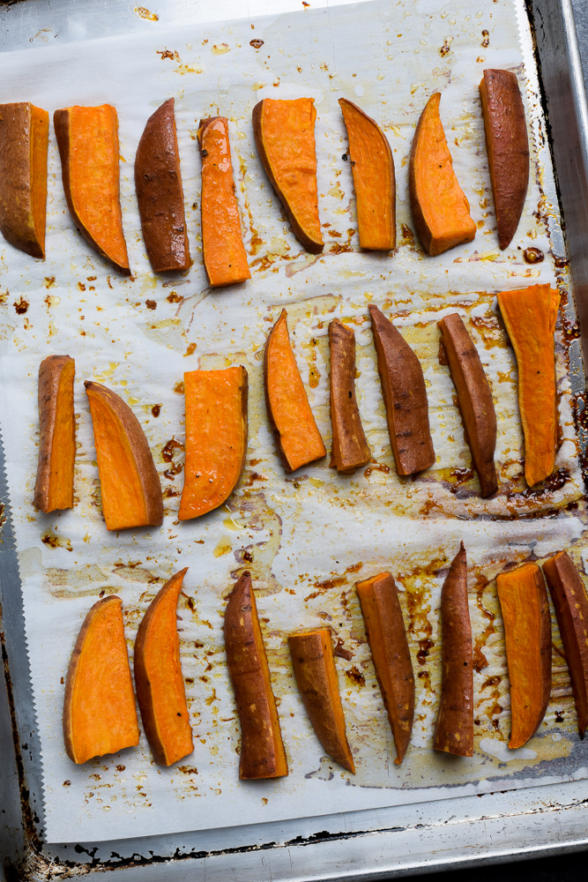 Sweet and Spicy Glazed Sweet Potatoes | Pamela Salzman