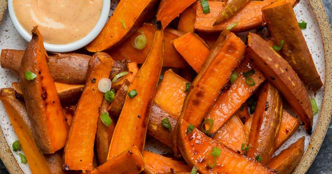 Sweet and Spicy Glazed Sweet Potato Recipe