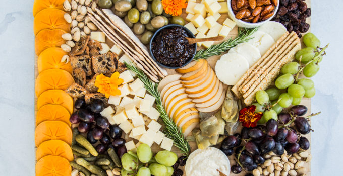 A Thanksgiving Cheeseboard