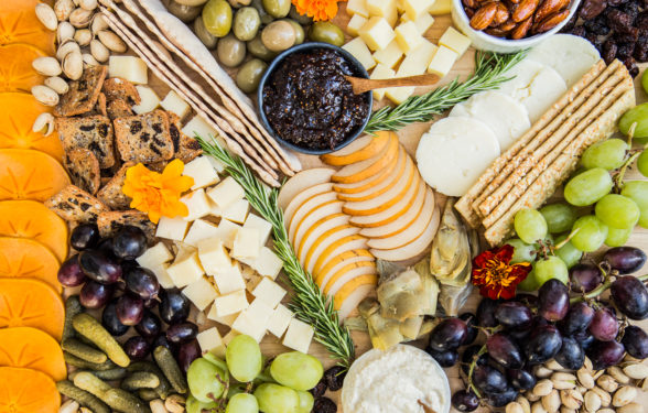 Thanksgiving Cheeseboard | Pamela Salzman