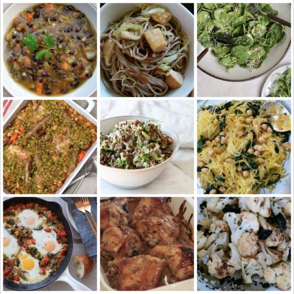 Dinner Planner: Week of October 23rd 2017