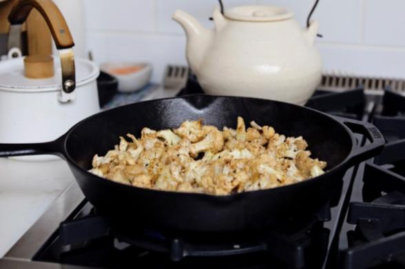 Chipotle Cauliflower Tacos | Pamela Salzman