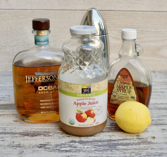Apple Bourbon Cocktail