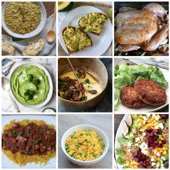 Dinner Planner: Week of November 13th 2017 | Pamela Salzman