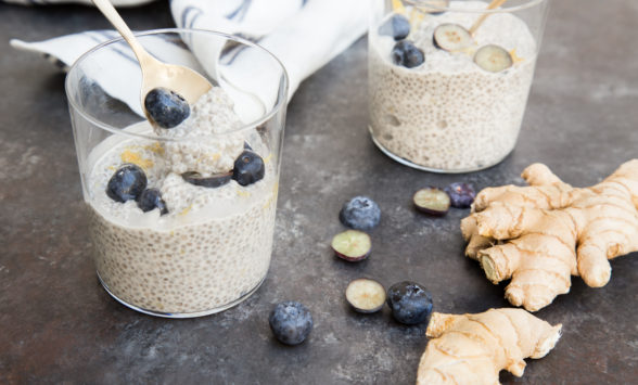 Lemon-Ginger Chia Seed Pudding | Pamela Salzman