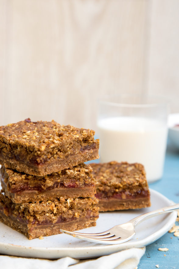 Peanut Butter Jelly Crumble Bars | Pamela Salzman