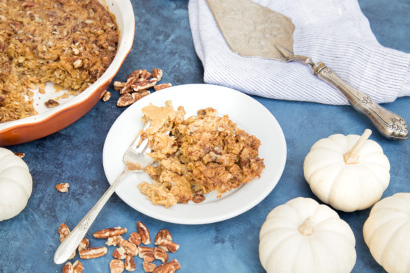 Baked Pumpkin Oatmeal | Pamela Salzman