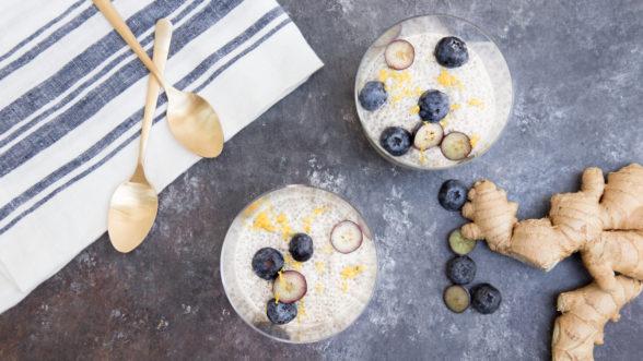 Lemon-Ginger Chia Seed Pudding | Pamela Salzman