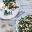 Vegetarian Kale Caesar Salad Recipe
