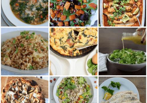Dinner Planner – Week of December 18th 2017