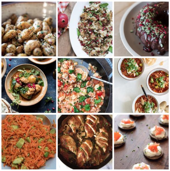 Dinner Planner - Week of December 25th 2017 | Pamela Salzman