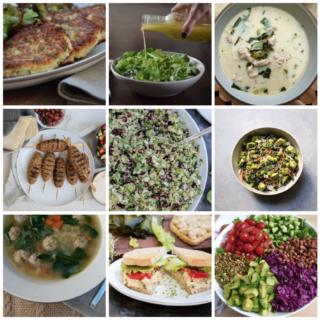 Dinner Planner - Week of January 8th 2018   Pamela Salzman