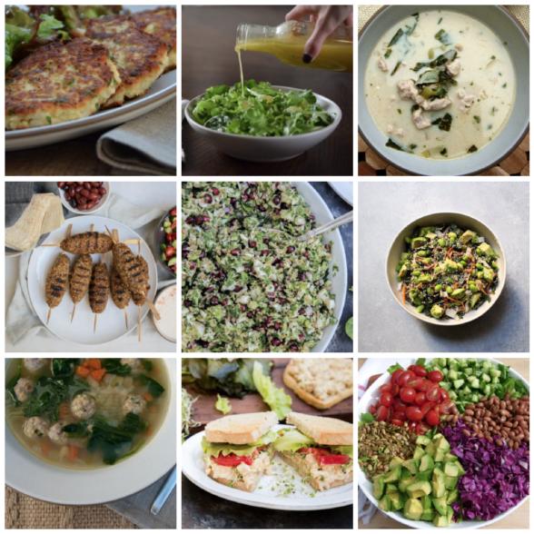 Dinner Planner - Week of January 8th 2018 | Pamela Salzman