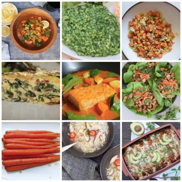 Dinner Planner - Week of December 15th 2018 | Pamela Salzman