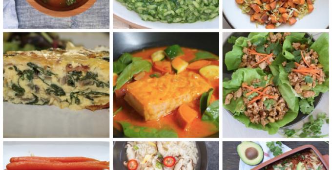 Dinner Planner – Week of January 15th 2018