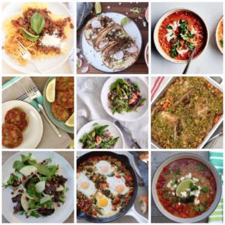 Dinner Planner - Week of January 22nd 2018 | Pamela Salzman
