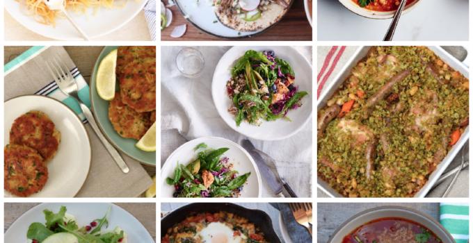 Dinner Planner – Week of January 22nd 2018