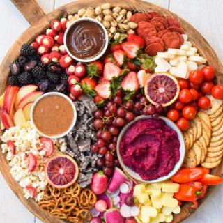 A Valentine's Day Snack Board | Pamela Salzman