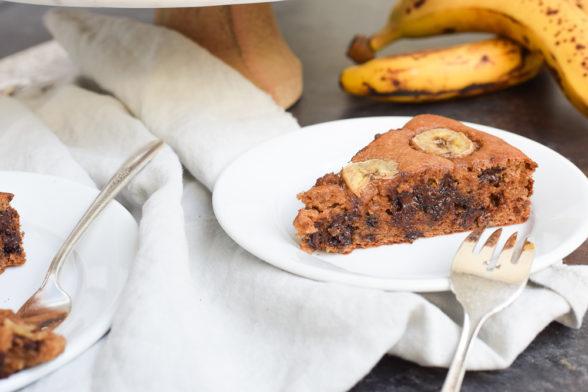 Grain-Free Peanut Butter Banana Cake | Pamela Salzman