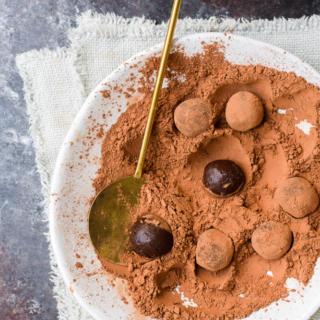Yerba Mate Chocolate Truffles | Pamela Salzman