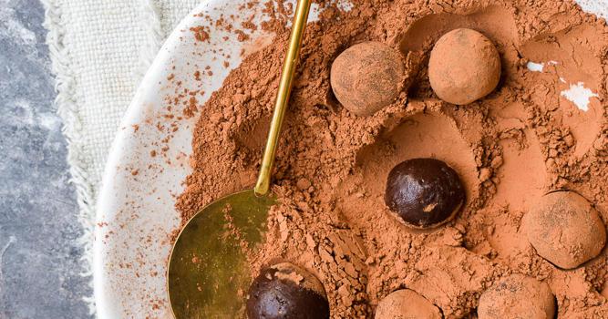 Yerba Mate Chocolate Truffles Recipe