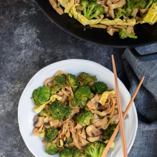 Shirataki Noodle Stir-Fry | Pamela Salzman