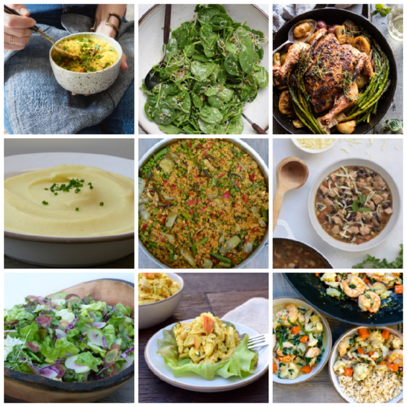 Dinner Planner - Week of April 16th 2018 | Pamela Salzman