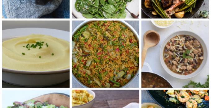 Dinner Planner – Week of April 16th 2018