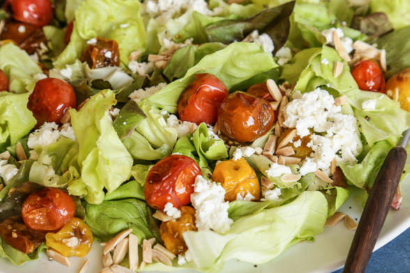 Roasted Cherry Tomato and Feta Salad | Pamela Salzman