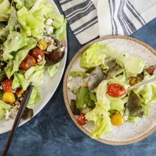 Roasted Cherry Tomato and Feta Salad | Pamela Salzman