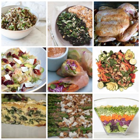 Dinner Planner - Week of May 7th 2018 | Pamela Salzman