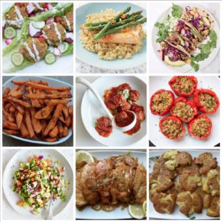 Dinner Planner - Week of May 14th 2018 | Pamela Salzman