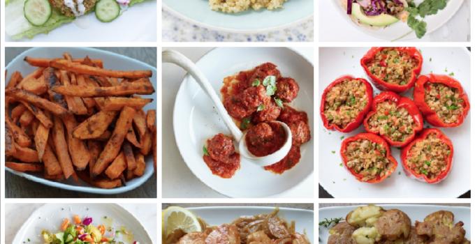 Dinner Planner – Week of May 14th 2018