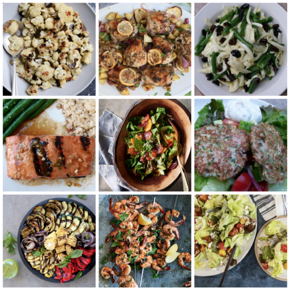 Dinner planner - Week of May 21st 2018 | Pamela Salzman