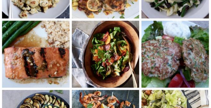 Dinner Planner – Week of May 21st 2018