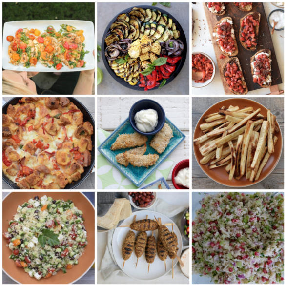 Dinner Planner - Week of May 28th 2018 | Pamela Salzman