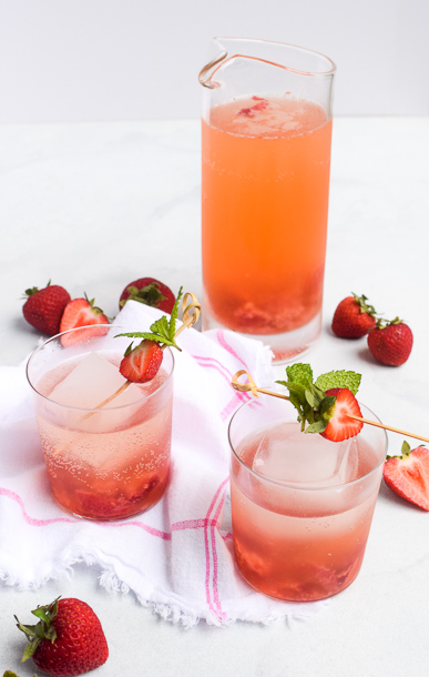 Strawberry-Ginger Shrub | Pamela Salzman