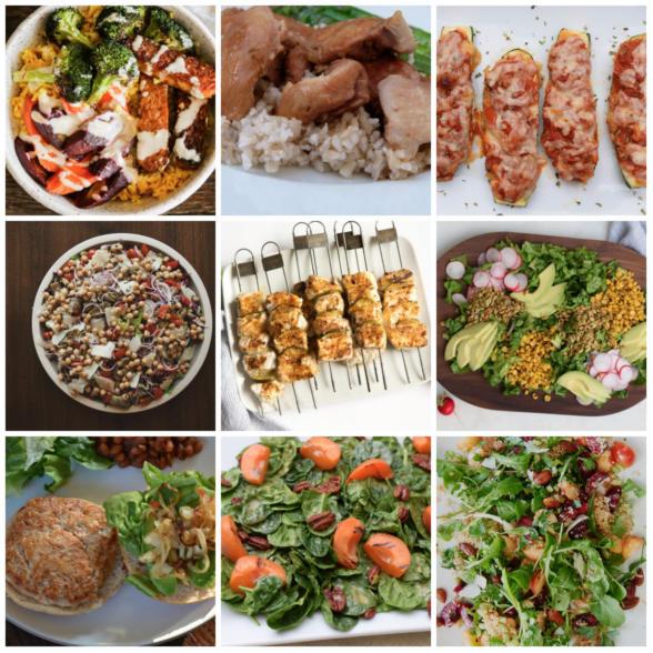 Dinner Planner - Week of June 4th 2018 | Pamela Salzman