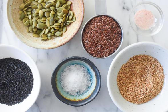 Grain-free Seed Crackers