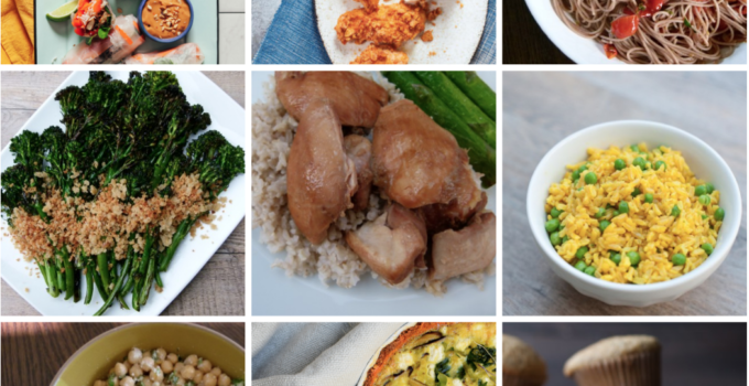 Dinner Planner – Week of May 6th, 2019