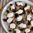 Crostini with Burrata and Blackberry-Thyme Chia Jam Recipe