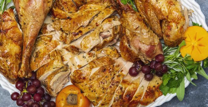 Herb Roasted Spatchcocked Turkey Recipe