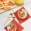 Orange Juice-Cinnamon Overnight Oats with Cacao Nibs Recipe