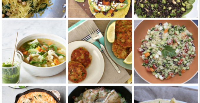 Dinner Planner – Week of March 30th, 2020