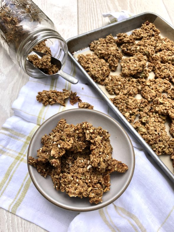 Big Cluster Granola Recipe